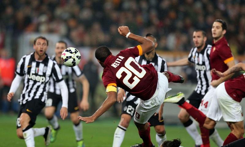 Roma-Juve 1 a 1. Distacco invariato, giallorossi ancora a -9 dalla vetta.