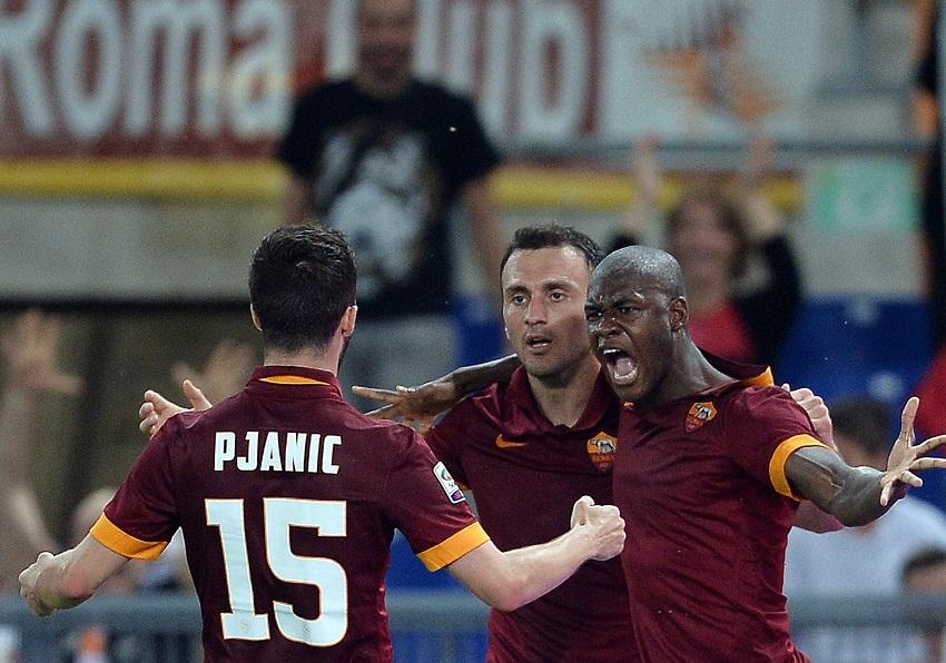 La Roma batte l'Udinese e si riprende il secondo posto. Ora testa al derby.