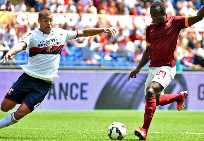 Doumbia e Florenzi sbrigano la pratica Genoa per la Roma.