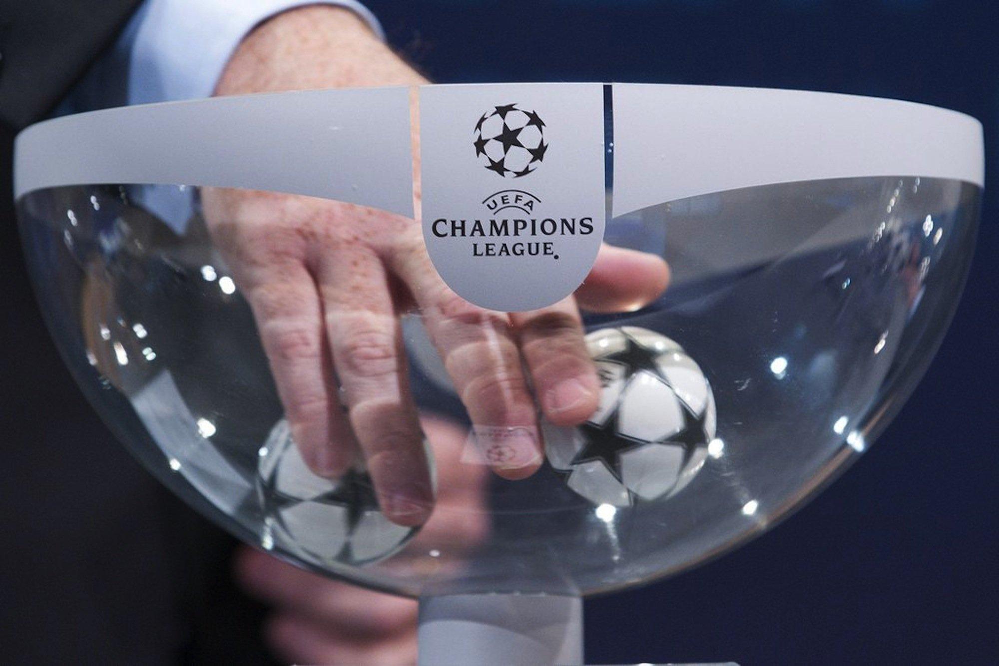 Sorteggi Champions League, i gironi delle italiane