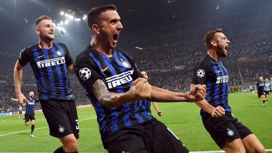Champions League: impresa Inter con il Tottenham. Il Napoli si ferma sullo 0-0