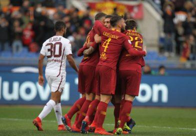 Roma-Torino 3-2. I giallorossi inciampano ma si rialzano, terza vittoria di fila in Serie A