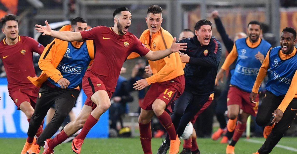 La Roma saluta Manolas, protagonista della rimonta contro il Barcellona