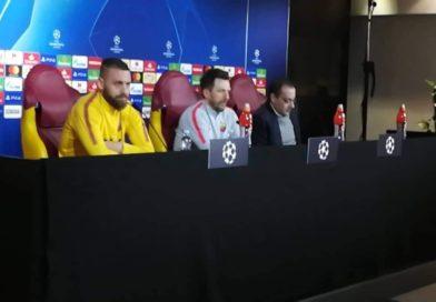 """Di Francesco e De Rossi caricano la Roma: """"Contro il Porto per ritrovare sorrisi ed entusiasmo"""""""