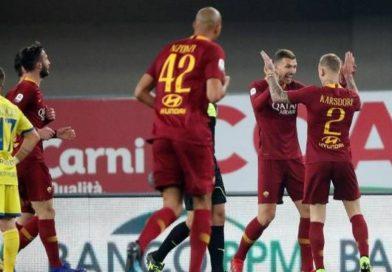 SERIE A Finalmente una vittoria serena: 3-0 della Roma sul Chievo (VIDEO)