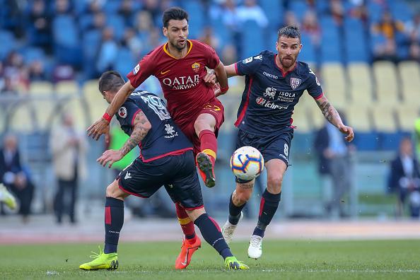 Roma-Cagliari 3-0: le pagelle. Le motivazioni fanno la differenza. Fazio versione bomber, Pastore mostra la sua classe