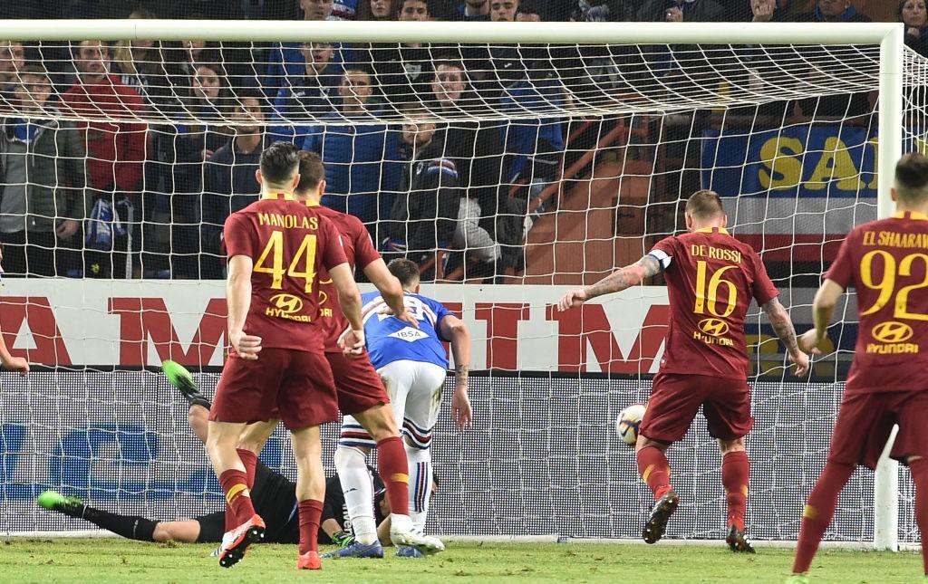 Sampdoria-Roma 0-1: le pagelle. Tre punti e clean sheet, sembra un miraggio. La difesa gira, Ranieri svolta il match coi cambi