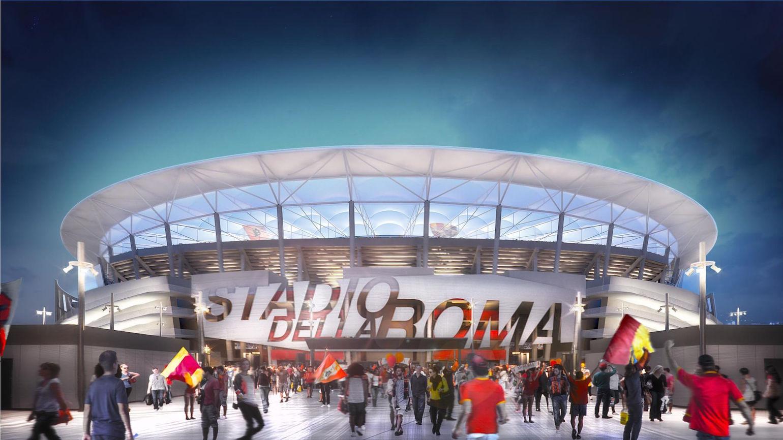Roma, Stadio: altro ritardo? Il progetto definitivo rischia di essere approvato dopo le elezioni