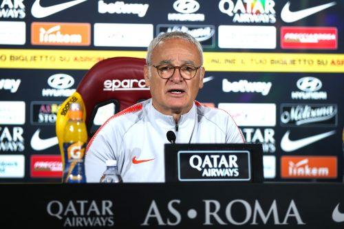 """Ranieri: """"Dobbiamo essere determinati. La Roma mi ha chiamato ed io sono venuto"""""""