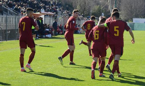 Primavera, Roma-Sassuolo 3-5. I giallorossi si fanno rimontare l'iniziale vantaggio di tre reti, Celar espulso nel finale