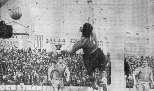 1962, Spal-Roma 1-2. Pestrin si fa male ma resta in campo, segna Jonsson