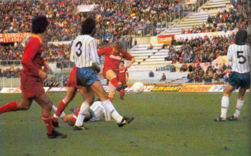 1986, Roma-Atalanta 4-0. Doppietta di Boniek, poi Giannini e Pruzzo, la Befana è giallorossa