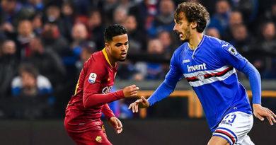 Noia e infortuni: Sampdoria-Roma finisce 0-0