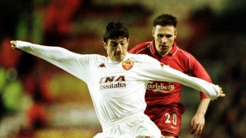 2001, Liverpool-Roma 0-1. La prima e unica vittoria in Inghilterra è amara per i giallorossi
