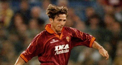 1997, Roma-Napoli 6-2. Primo gol giallorosso in Serie A per Di Francesco