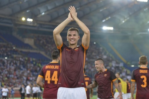 2015, Roma-Juventus 2-1. Cronaca di una storia d'amore, è arrivato Edin Dzeko