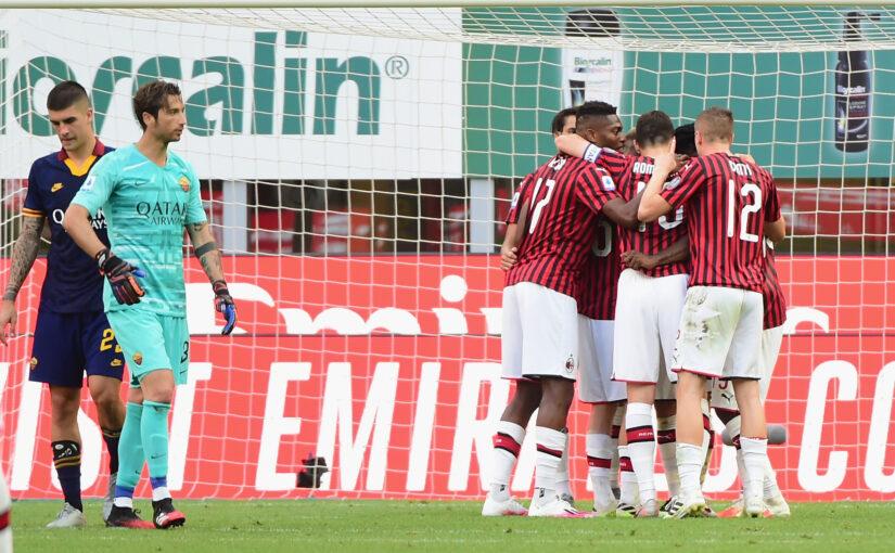 Le statistiche di Milan-Roma 2-0: Veretout e compagni corrono di più, ma a vuoto. Mirante non basta