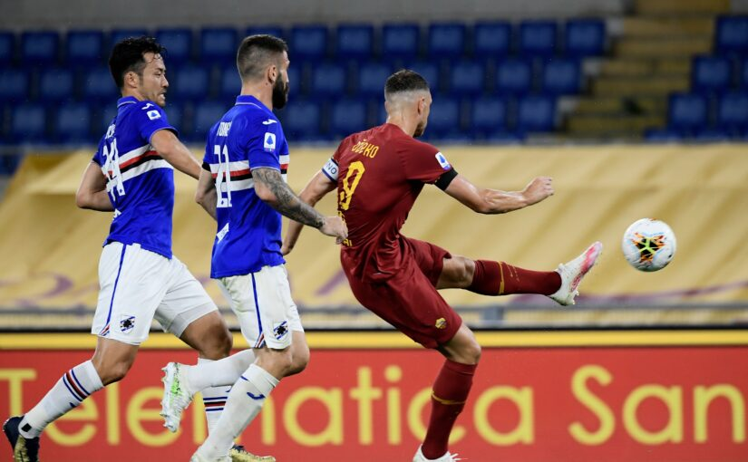 Le statistiche di Roma-Sampdoria 2-1: Fonseca indovina i cambi e Dzeko trascina al successo