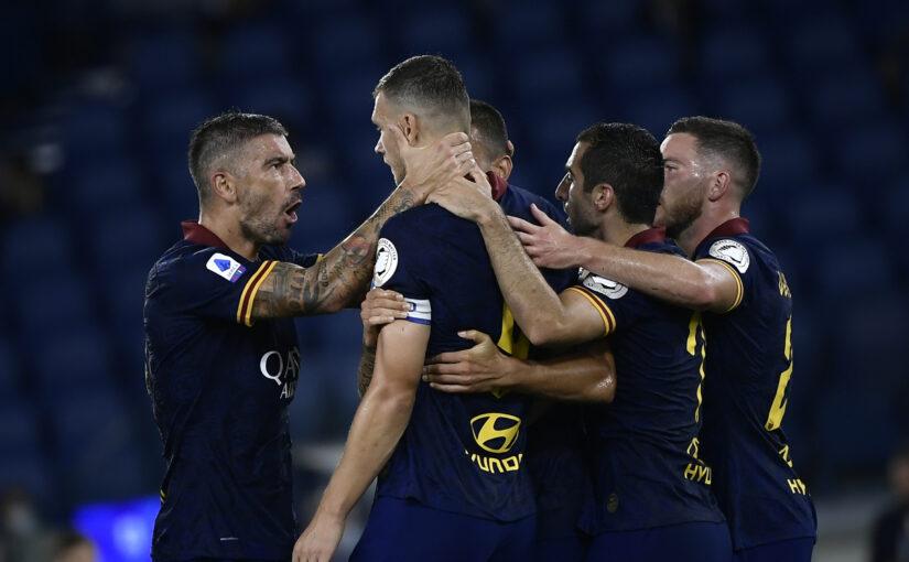 Le statistiche di Roma-Hellas Verona 2-1: passa lo straniero, Edin da record. Veretout giganteggia