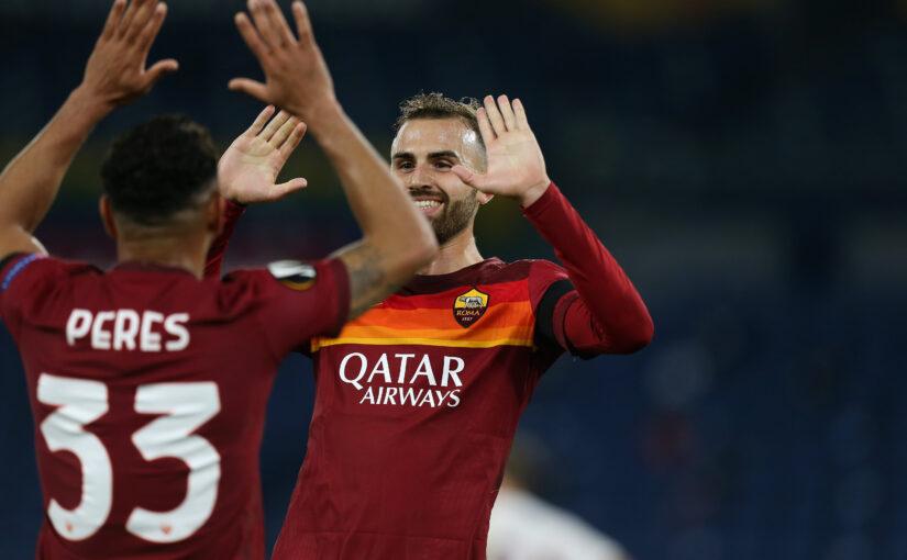 Manita al Cluj, Roma in testa al girone